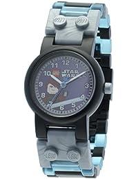 Lego - 9002052 - Star Wars - Anakin Skywalker - Coffret Cadeau - Montre Garçon - Quartz Analogique - Bracelet Plastique + Figurine