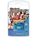 Transcend Ultra-Performance 80x 1GB Compact Flash Speicherkarte