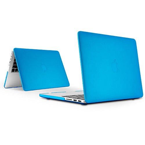 """E-Tree MacBook Pro 13 Hülle - Ultra Slim Hochwertige Hartschale Tasche Schutzhülle Snap Case für Apple MacBook Pro 13.3"""" WITH CD-ROM Drive (A1278) - Blau"""