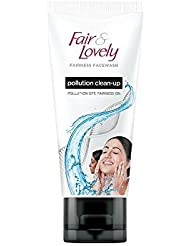 Fair & Lovely Pollution Clean Up Face Wash, 50g