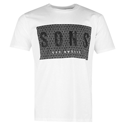 ONLY & SONS -  T-shirt - Uomo bianco Large
