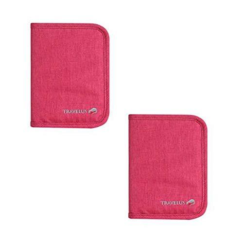 Wind Ziel Travel Wallet Familie Passport Halter Wasserdicht Dokument Veranstalter Tasche ID Card Cover Protector in zufälliger Farbe, 3