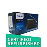 Best Tabletop Radio - (CERTIFIED REFURBISHED) Philips DL-225 Portable Radio MW/SW/FM, Black Review