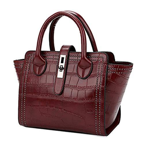 Kenneth Cole Designer-handtasche (Tote Bag Designer Handtaschen Ledertaschen Handtaschen Red 25cm11cm22cm)