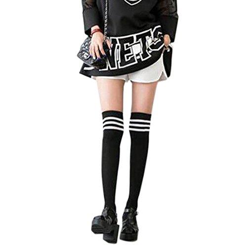 Cotone Di Modo Uniformi Stile Scuola Ragazze Lungo Sopra Il Ginocchio Calze Calza