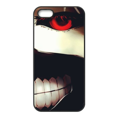 Housse de protection en TPU cuir Case Cover Pour iPhone 55S Tokyo Ghoul Coque pour iPhone 5S, Soft coque en silicone skin Housse Coque Shell de protection pour iPhone 55S