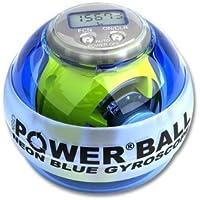 Powerball Neon Pro - Pelota para tratar el síndrome del túnel carpiano, color azul (blue)