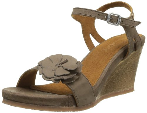 Buggy Shoes  Cary,  Sandali donna Marrone Marron (Taupe) 41