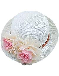 Moda Sombrero De Paja Protector Solar Playa Sombrero De Vacaciones De Sol Acogedor Niños Hombres Chicas Elegante Safari De Vacaciones Playa Al Aire Libre