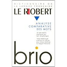 Le Robert Brio : Analyse comparative des mots
