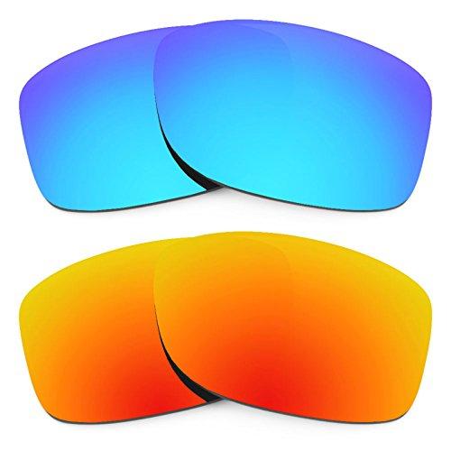 Revant Ersatzlinsen für Oakley Jupiter Squared Polarisiert 2 Paar Kombipack K002