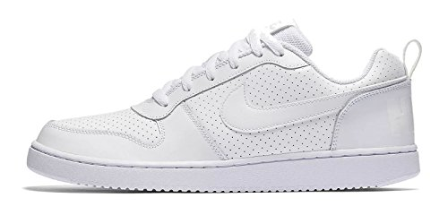 the latest 0bb77 95395 Nike Court Borough Low, Chaussures De Basket-ball Blanches Pour Homme