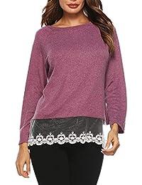 Mujer Camisetas Plumifero Y es Ropa Tops Amazon Blusas xYOqfEwES