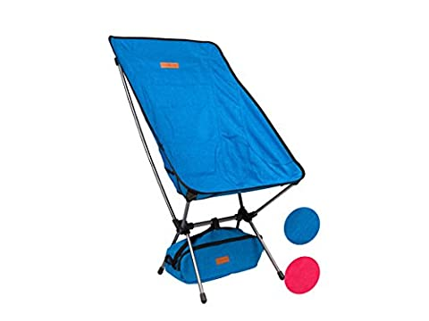 Trekology Portable High Back Camping Chairs with