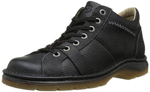 Dr Martens Zak 7 Eye Boot, Chaussures de ville homme - Noir, 44 EU (9.5 UK)
