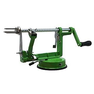 ARSUK Apple Peeler, Vegetable, Fruit Peeler, Pear Potato Slicer Corer, Peeling Machine (Green)