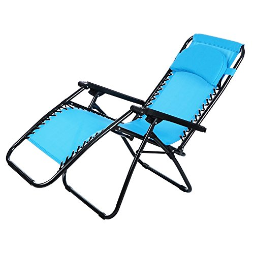 Ancheer Zero Gravity Lounge Chair - Blue
