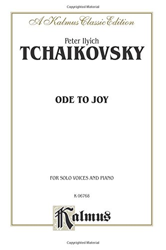 Ode to Joy: Satb Divisi with Satb Soli (Russian Language Edition) (Kalmus Edition)