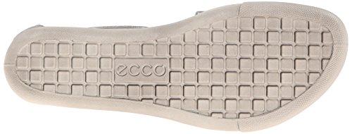 ECCO Damara, Scarpe Col Tacco con Cinturino a T Donna Argento (Silber (Sandal Alusilver Lexi01708))