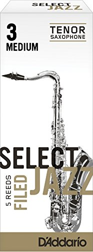 rico-filed-medium-3-strength-select-jazz-reed-for-tenor-sax-pack-of-5