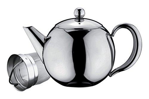 Belmont, lussuosa teiera in acciaio inossidabile, acciaio inox, stainless steel handle, 500 ml