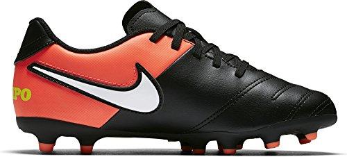 Nike 819195-018, Scarpe da Calcio Unisex – Adulto Nero (Black/white/hyper Orange/volt)