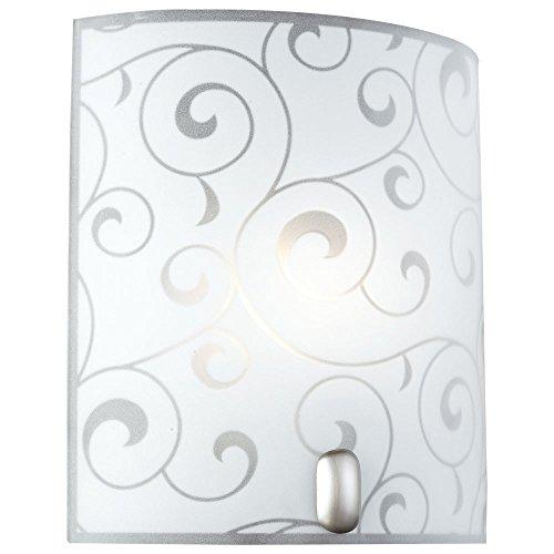 LED 9,5 Watt parete apparecchio specchio lampada raso illuminazione bagno metallo vetro