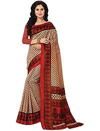 Venisa Women's Cotton Saree With Blouse Piece(Vns1236 Multi Free Size)