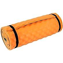 Highlander Comfort Camper Esterilla Aislante Naranja Naranja Talla:180 x 50 x 1.5 cm