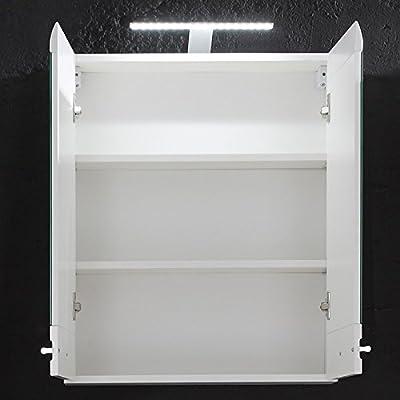 Badezimmer Spiegelschrank »BEVA231« weiß von Trendteam auf Spiegel Online Shop