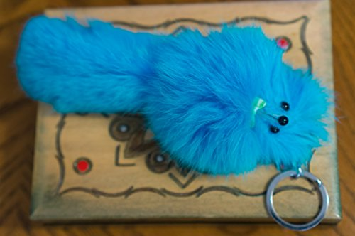 3-for-2-new-aqua-turquoise-colours-big-20cm-designer-fur-keyring-charm-cute-animal-unique-gift-cute-