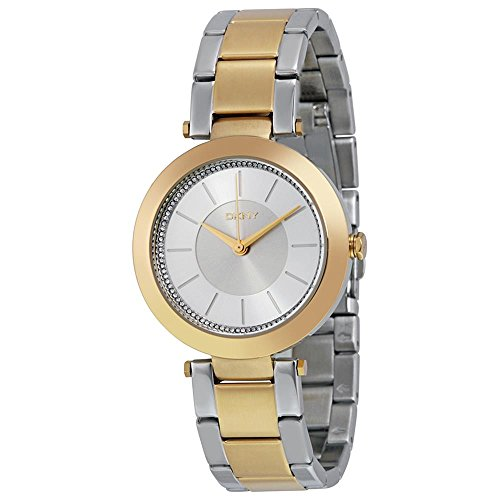 DKNY (DNKY5) Women's Quartz Watch with Gold Dial Analogue Display and Gold Stainless Steel Bracelet NY2334