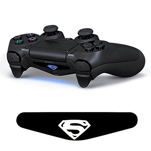 iprotect LED Light Bar LED Sticker für Playstation 4 Controller DualShock 4 Superman (Ps4 Controller Light Bar Superman)