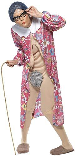 Kostüm Womens Lustig - Fancy Me Kostüm für Herren und Damen, freche Oma Oma Old Lady unhöflich peinlich, lustiges Kostüm für Junggesellinnenabschiede