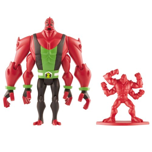 Ben 10 Omniverse - 36023 - Quad (Four Arms) - Figurine 10cm et Minifigurine 3cm (Import UK)