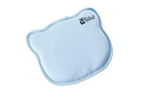 Cuscino Neonato Plagiocefalia Sfoderabile (con due Federe) per la Prevenzione e Cura della Testa Piatta in Memory Foam Antisoffoco - Koala Babycare® - Perfect Head
