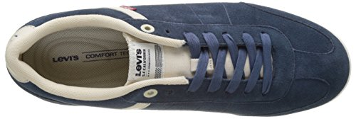 Levis Loch, Baskets Basses Homme Turquoise (Dark Turquoise)