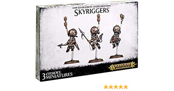 Warhammer Age of Sigmar Kharadron Overlords Skyriggers 99120205021