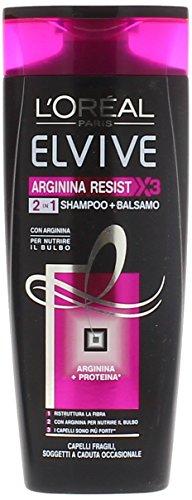 Elvive Shampoo Arginina Resist 2In1 Ml.250, 1 pezzo