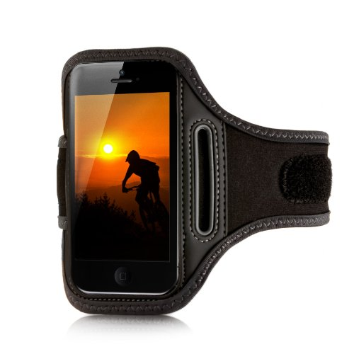 vau ActionWrap - Sport-Armband Tasche speziell für Apple iPhone 5 + new iPod Touch (2012) Sportwrap Armband