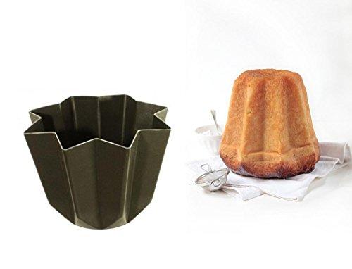 Dalbags - teglia stampo tortiera forma pandoro panettone natale alluminio antiaderente 1 kg