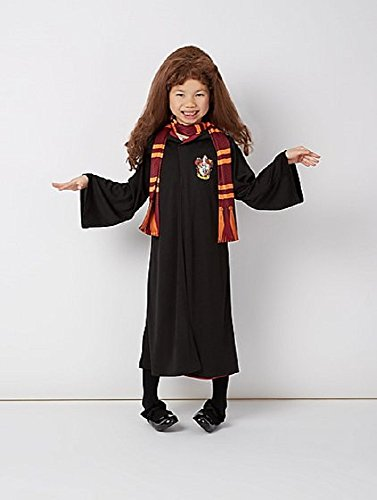 Girls-Gryffindor-Hermione-Granger-Fancy-Dress-Costume-Robes-Wand-Scarf-and-Wig-For-Year-5-12