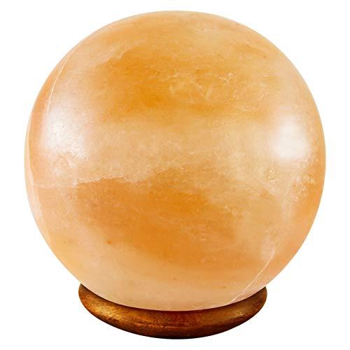 Magic salt ® grande palla/globo forma himalayan sale lampada aria depuratore 5-6 kg