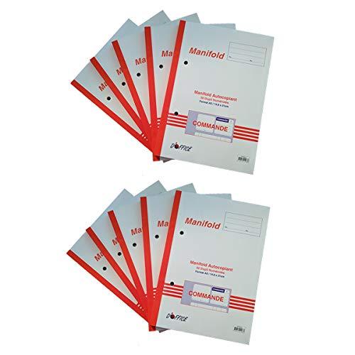310x210 mm Registre 31x21 300 pages 5x5 Couverture Papier finition toil/ée Quadrill/é 5x5 Taille 31x21 cm EZ Office