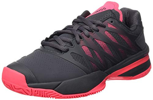 K-Swiss Performance KS Tfw Bigshot Light 3, Zapatillas de Tenis para Mujer, Negro (Magnet/Pink 43),