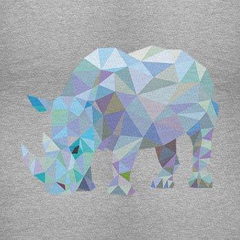 TEXLAB - Poly Rhino - Herren Langarm T-Shirt Grau Meliert