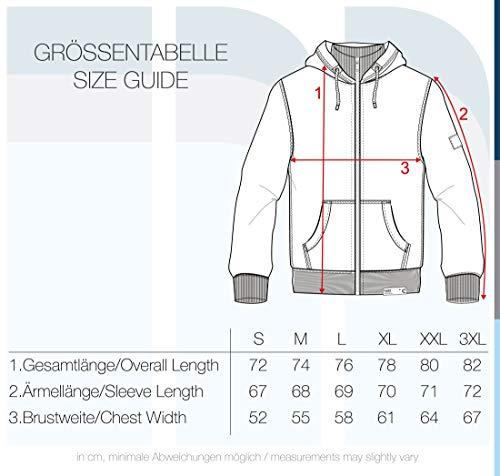 !Solid Trip-Zip Pile Herren Sweatjacke Kapuzen-Jacke Zip-Hoodie mit Teddy-Futter aus hochwertiger Baumwollmischung, Größe:S, Farbe:Black Pil (P9000) - 6