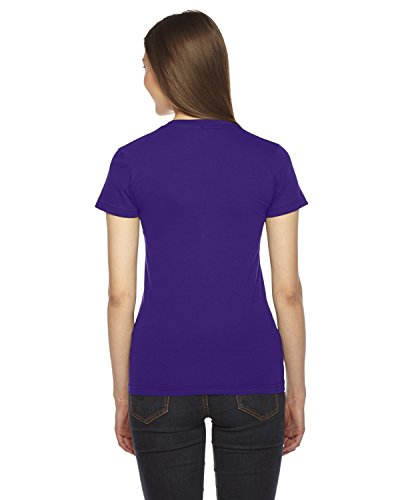 American Apparel Fine Jersey à manches courtes Tee femmes purple