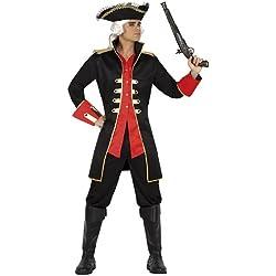 Traje para hombre de pirata, M-L.