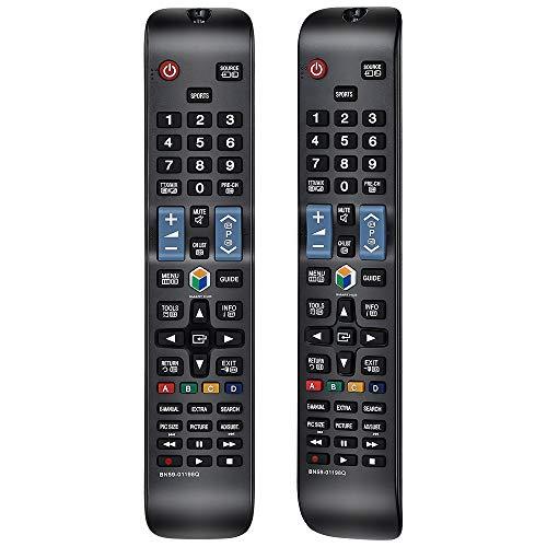 Alkia BN59-01198Q Fernbedienung Ersatz für Samsung 3D LCD LED Smart TV UE32J5550 UE32J6250 UE32J6350 UE40J6250 UE40J6250 UE40J6350 UE40JU6400